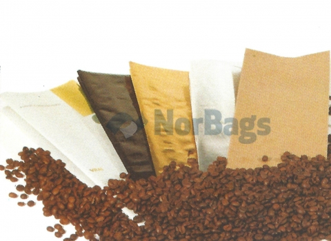 Packaging for coffee in paper